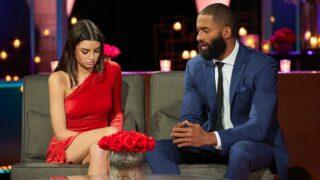 Rachael Kirkconnell and Matt James on The Bachelor season 25's