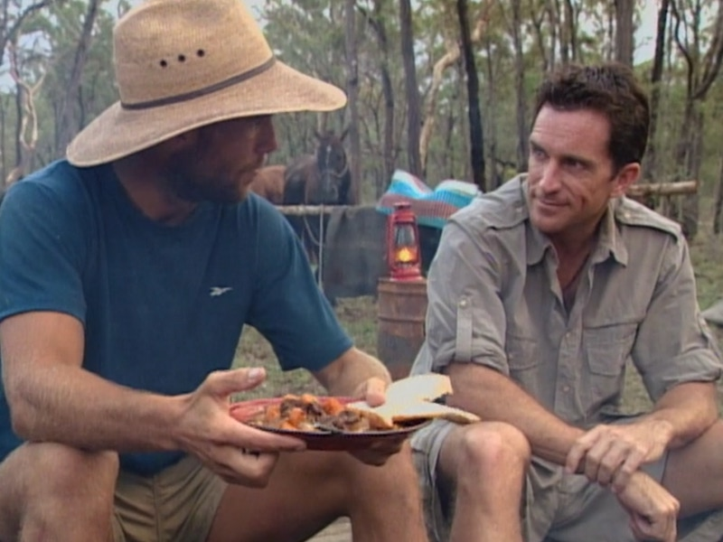 Find someone who looks at you the way Jeff Probst looked at Colby Donaldson when he visited during Colby's reward.