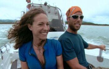 Colby and Jerri on their way to the Great Barrier Reef on Survivor: The Australian Outback