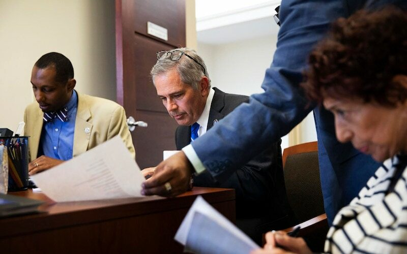 Philly DA Larry Krasner working with his team