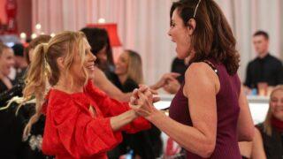 Ramona Singer and Luann de Lesseps during RHONY season 12