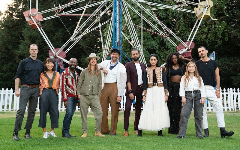 Making the Cut season 2's designers/contestants, who will be competing for $1 million over eight episodes premiering this summer