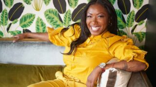 Nyesha Arrington, one of the mentors on Fox's newly announced Next Level Chef, which will also star Gordon Ramsay