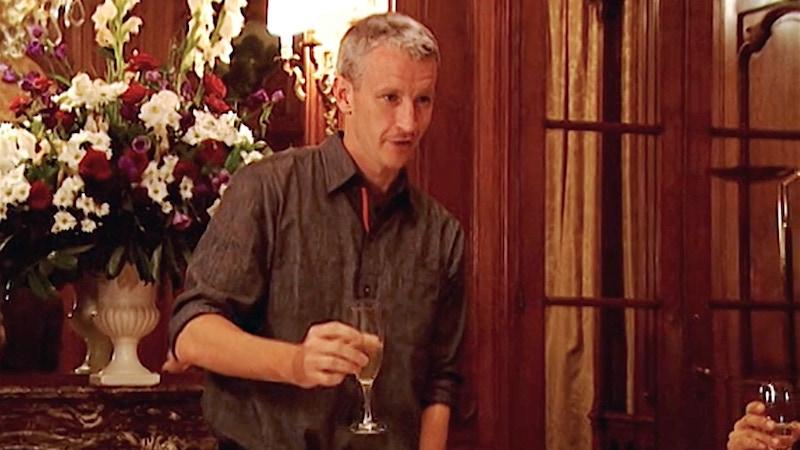 Anderson Cooper toasts The Mole season 1 cast in Paris