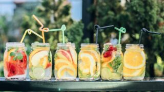 Icy, fruit-infused beverages—perfect for summer, just like summer reality shows