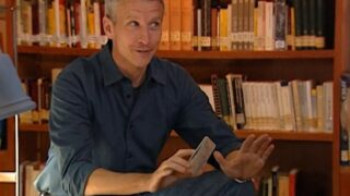 Anderson Cooper introduces The Mole episode 6's second test in a library