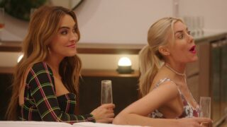 Chrishell Stause and Heather Rae Young on Netflix's Selling Sunset, one of the few new reality shows to get an Emmy nomination