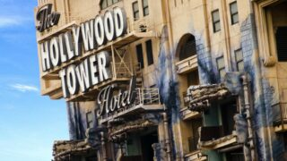 The Hollywood Tower Hotel, otherwise known as the Tower of Terror at Disney's Hollywood Studios, which is the focus of one episode of Behind the Attraction.