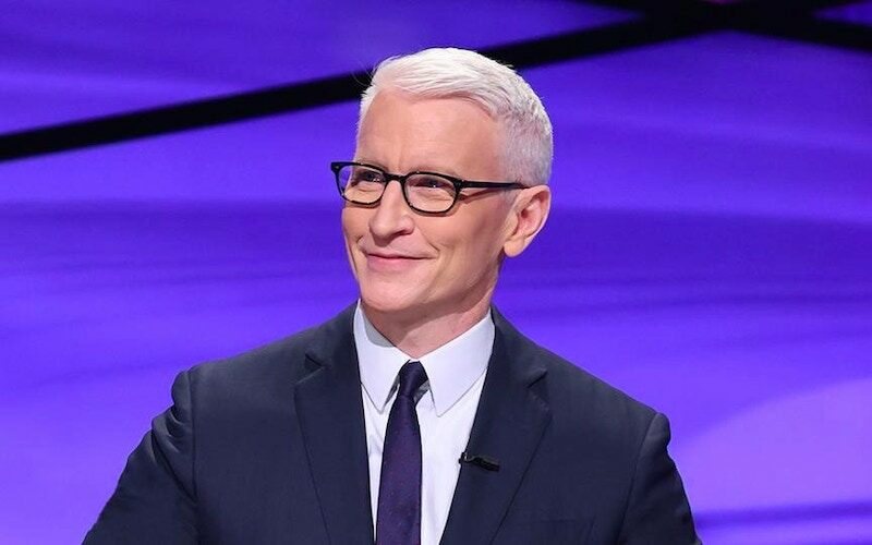 Former Mole host Anderson Cooper guest hosts Jeopardy!