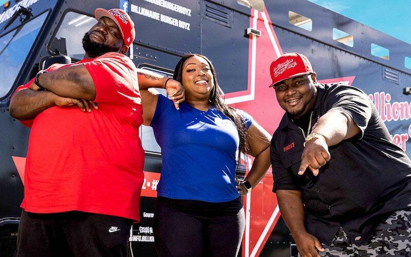Burger Truck Brawl stars The Billionaire Burger Boyz and The Burger Girl