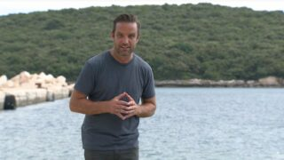 Challenge host TJ Lavin in a teaser for The Challenge 37; he also appears in the new version of MTV's Cribs.