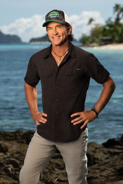Jeff Probst, host and showrunner of Survivor