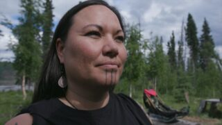 Jody Potts, one of the cast members on Life Below Zero: First Alaskans, the first NatGeo show to have only Alaska Native cast members.