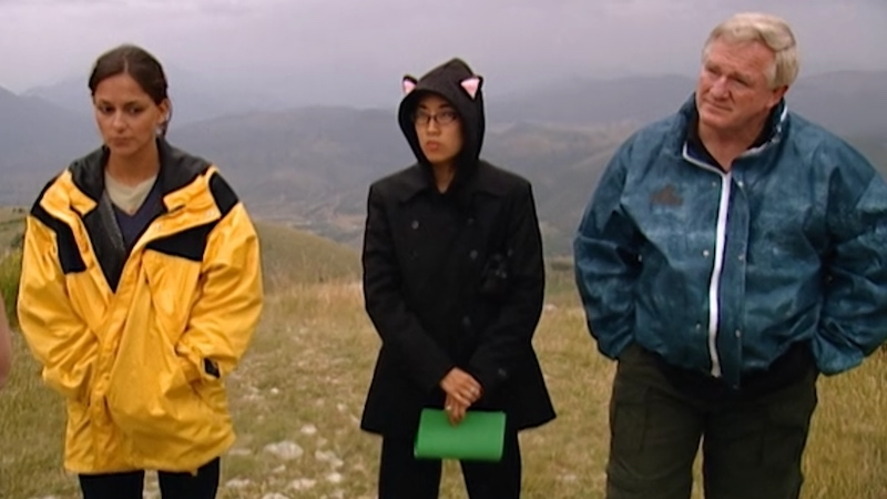 The Mole 2's final three, Heather, Dorothy, and Bill, learn about their final test, a hike to find a secret location and the mole's dossier.