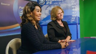 Small Town News's Eunette Gentry and Deanna O'Donnell