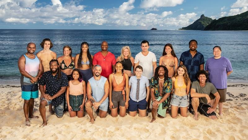 Survivor 41's cast
