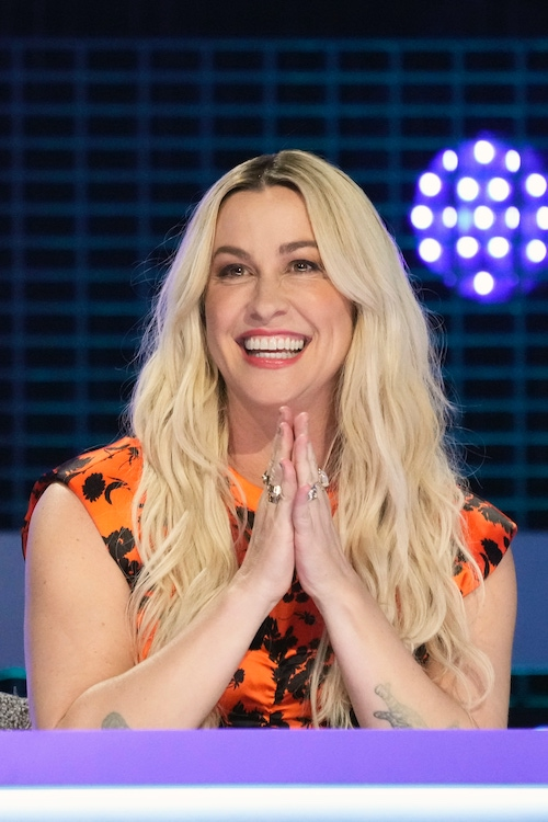 Alanis Morissette, one of Alter Ego's judges, during episode two
