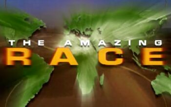 Amazing Race season 1's title card, as seen in the opening credits
