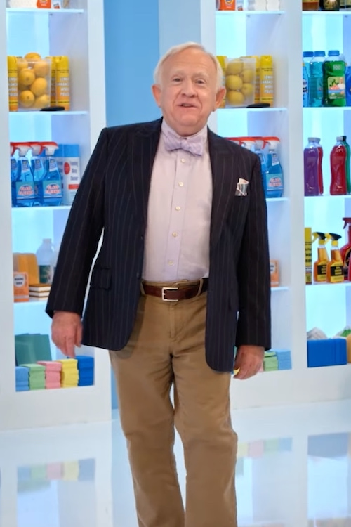 Leslie Jordan introduces an episode of Squeaky Clean