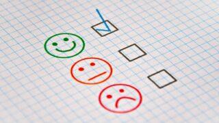 A three-face grading system