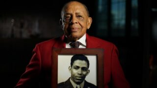 Retired Lt. Colonel Harold Brown, a member of the Tuskegee Airmen during World War II, as seen on PBS's American Veteran