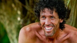 Brad Reese during Survivor 41's third episode, before he was voted out
