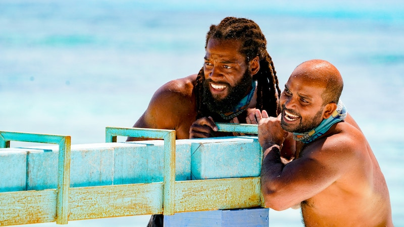 Danny McCray and Naseer Muttalif (right) single-handedly thwarts Danny McCray (left) and Deshawn Radden's plans to throw the immunity challenge