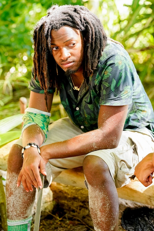"Jairus ""JD"" Robinson on Survivor 41 episode 4, which ended his Survivor dreams, for now"