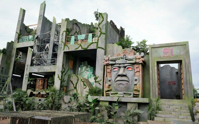 Olmec and the Legends of the Hidden Temple's Temple Run