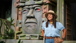 Cristela Alonzo, host of The CW's new adult version of Legends of the Hidden Temple